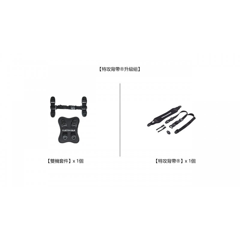1 GlideOne and Dual Strap Kit